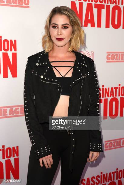Kelsey Darragh attends the premiere of Neon and Refinery29's 'Assassination Nation' at ArcLight Hollywood on September 12 2018 in Hollywood California
