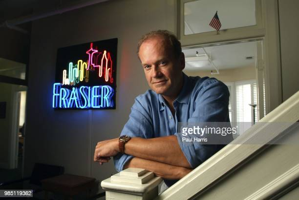 Kelsey Grammar famous for his role as Frasier photographed June 9 2005 in the Lucy Bungalow his office on the Paramount Studios lot Los Angeles...