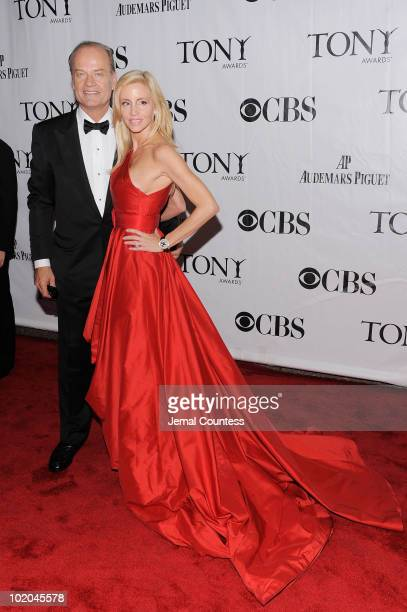 Kelsey Grammer and Camille Grammer attend the 64th Annual Tony Awards at Radio City Music Hall on June 13 2010 in New York City