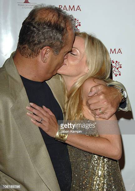 Kelsey Grammer and Camille Grammer during And 3 Arts Entertainment New York TV Upfronts AfterParty May 15 2007 at The Grand in New York City New York...