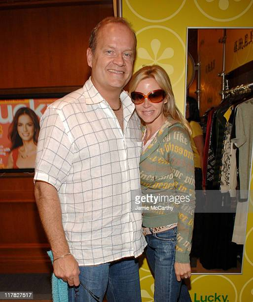 Kelsey Grammer and Camille Grammer during The Lucky Magazine Club 2006 Day 1 at The Ritz Carlton Central Park South in New York City New York United...