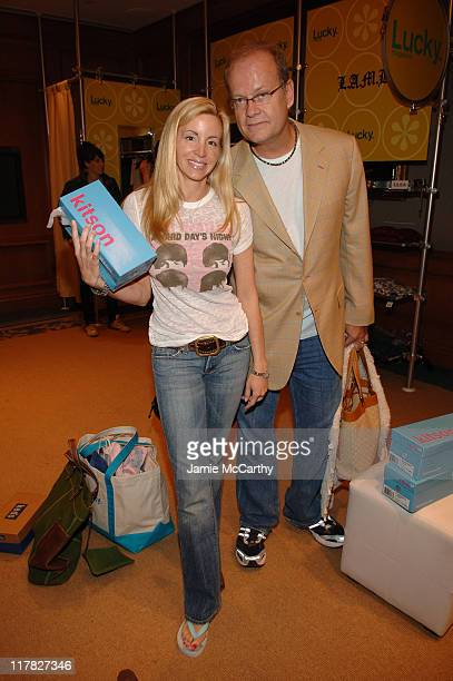 Kelsey Grammer and Camille Grammer during The Lucky Magazine Club 2006 Day 3 at The Ritz Carlton Central Park South in New York City New York United...