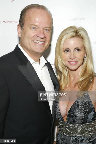 """Kelsey Grammer and Camille Grammer during The New York Philharmonic Spring Gala Celebrates """"My Fair Lady"""" - March 7, 2007 at Avery Fisher Hall in New..."""