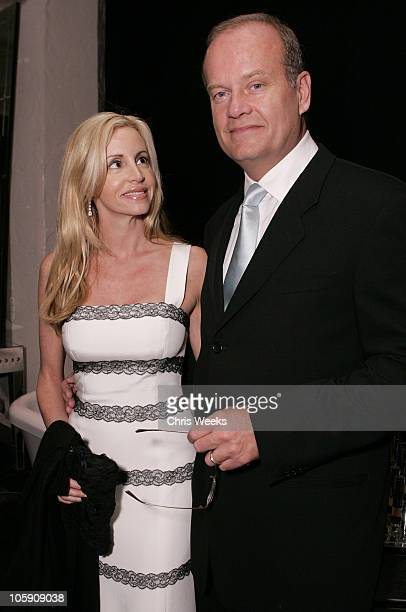 Kelsey Grammer and Camille Grammer during The Silver Spoon Gift Lounge at The 32nd Annual People's Choice Awards at The Shrine Auditorium in Los...