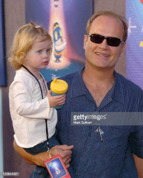 """Kelsey Grammer and daughter Mason during Premiere of Disney's """"Teachers Pet"""" at The El Capitan Theatre in Hollywood, California, United States."""