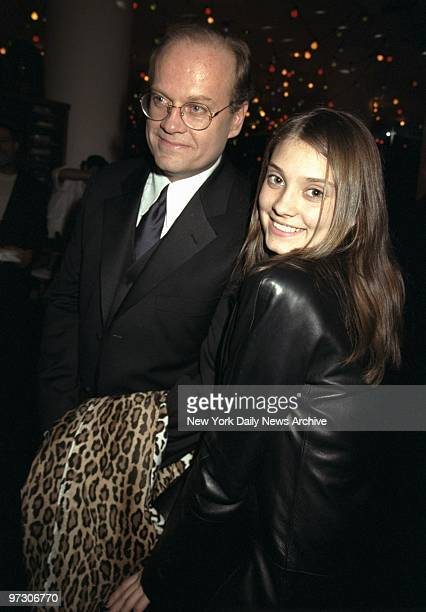 Kelsey Grammer and daughter Spencer arrive for BMG Records' Grammy party at Barney's Madison Ave.