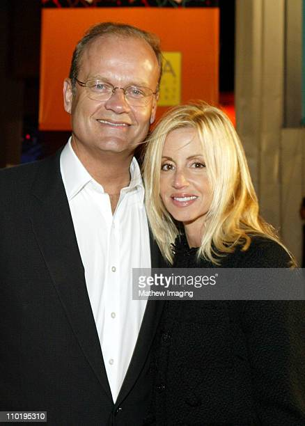 Kelsey Grammer and his wife Camille Grammer during Paramount Says Farewell to 'Frasier' at Barker Hanger at Santa Monica Airport in Santa Monica...