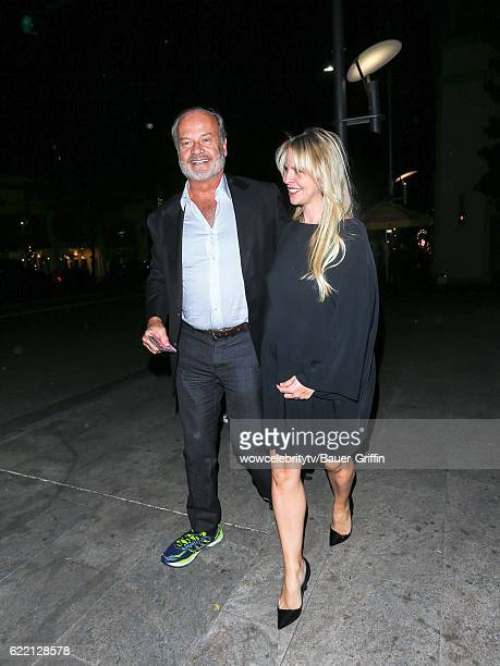 Kelsey Grammer and Kayte Walsh are seen on November 09 2016 in Los Angeles California