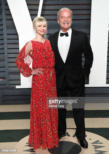 Kelsey Grammer and Kayte Walsh arrive for the Vanity Fair Oscar Party hosted by Graydon Carter at the Wallis Annenberg Center for the Performing Arts...