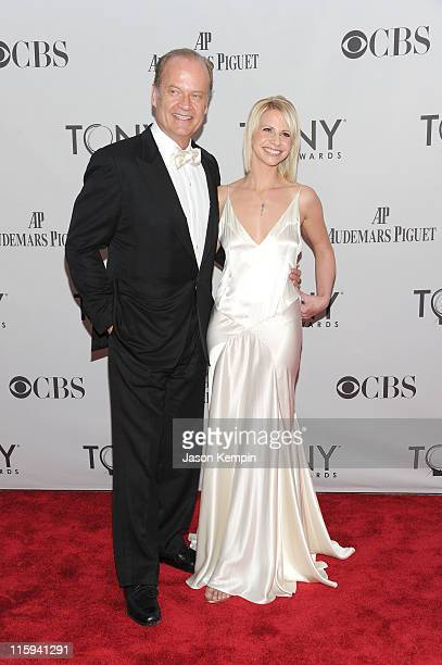Kelsey Grammer and Kayte Walsh attend the 65th Annual Tony Awards at the Beacon Theatre on June 12 2011 in New York City