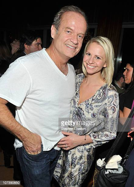 Kelsey Grammer and Kayte Walsh attend the after party for the New York premiere of 'Blue Valentine' hosted by Quintessentially at Boom Boom Room on...