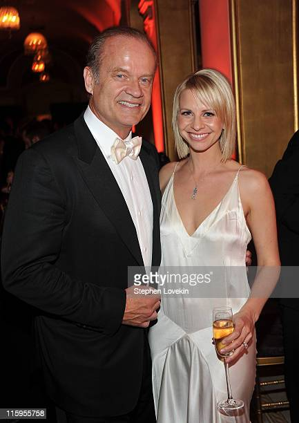 Kelsey Grammer and Kayte Walsh attend the party following the 65th Annual Tony Awards on June 12 2011 in New York City