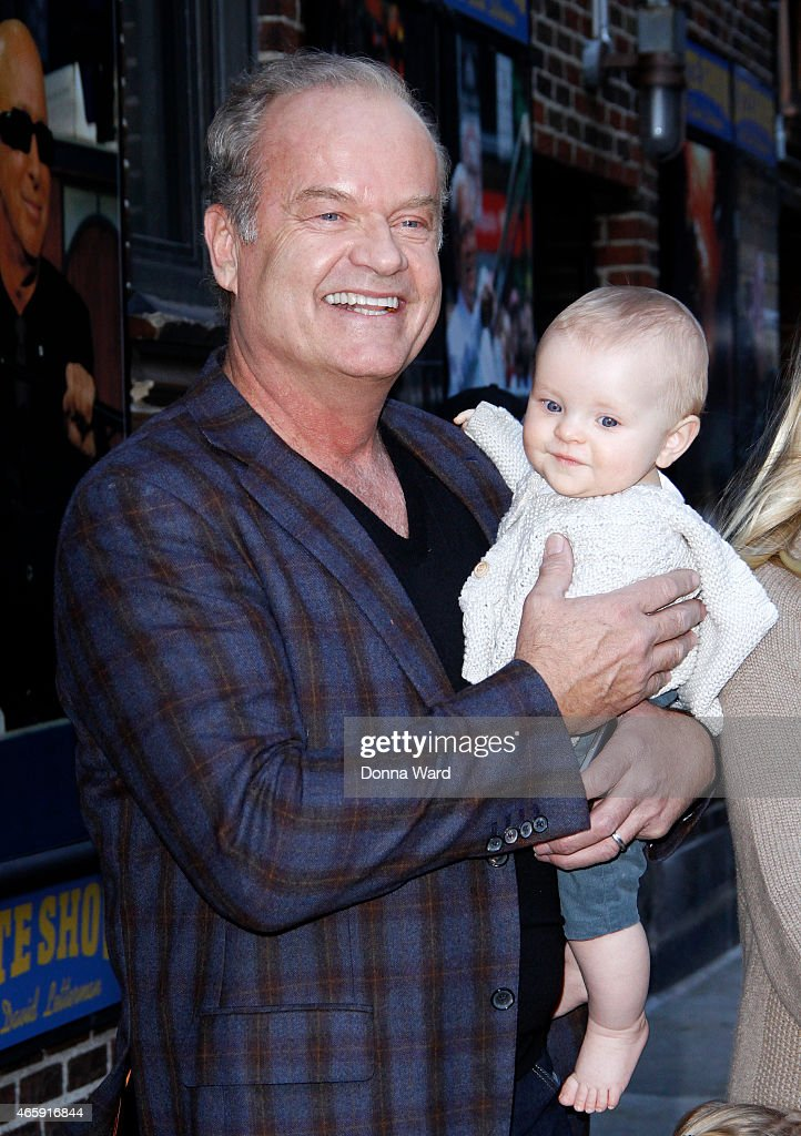 Kelsey Grammer and Kelsey Gabriel Grammer leave the 'Late Show with David Letterman' at Ed Sullivan Theater on March 11, 2015 in New York City.