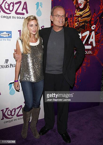 Kelsey Grammer and wife Camille Grammer arrive for the Cirque Du Soleil Opening Night Gala For Kooza at Santa Monica Pier on October 16 2009 in Santa...