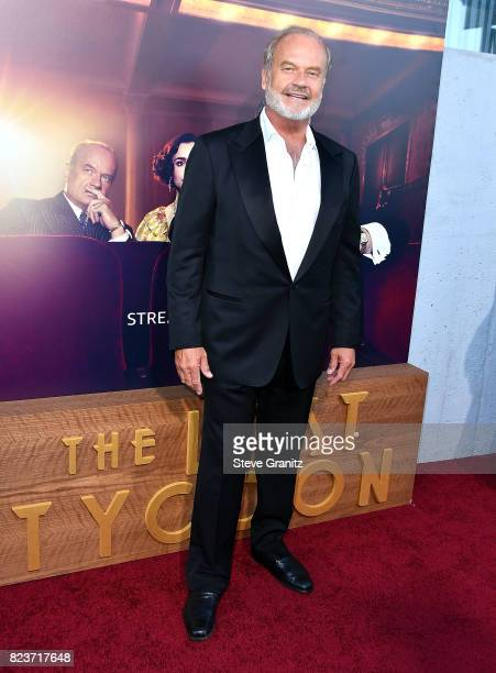 Kelsey Grammer arrives at the Premiere Of Amazon Studios' 'The Last Tycoon' at the Harmony Gold Preview House and Theater on July 27 2017 in...
