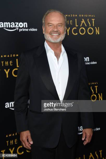 Kelsey Grammer arrives at the Premiere Of Amazon Studios' The Last Tycoon at the Harmony Gold Preview House and Theater on July 27 2017 in Hollywood...