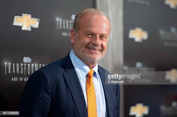Kelsey Grammer attends the Transformers Age Of Extinction premiere at Ziegfeld Theater on June 25 2014 in New York City