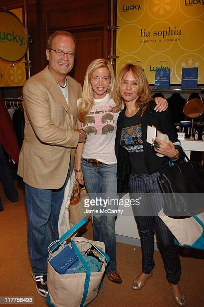 Kelsey Grammer Camille Grammer and Rosanna Arquette