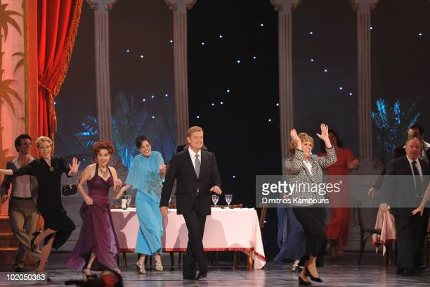 Kelsey Grammer Douglas Hodge and the cast of La Cage aux Folles perform onstage during the 64th Annual Tony Awards at Radio City Music Hall on June...