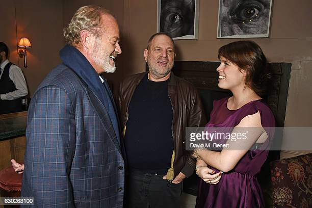 Kelsey Grammer Harvey Weinstein and Princess Eugenie of York attend a VIP screening of 'Lion' hosted by Harvey Weinstein and Georgina Chapman at Soho...