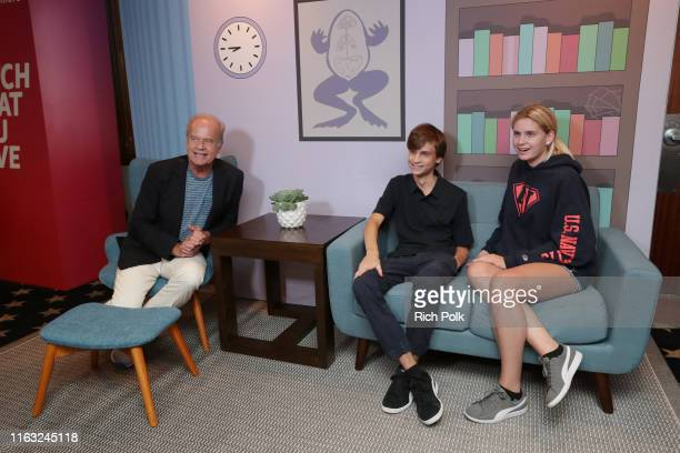 Kelsey Grammer Jude Gordon Grammer and Mason Olivia Grammer attend the #IMDboat at San Diego ComicCon 2019 Day Three at the IMDb Yacht on July 20...