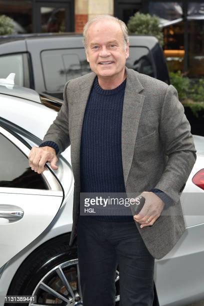 Kelsey Grammer at LBC for an interview on the Steve Allen show on February 22 2019 in London England