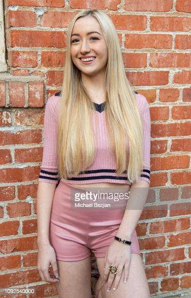 Kelsey Lee poses for portrait at Giveback Day at TAP The Artists Project on January 10 2019 in Los Angeles California