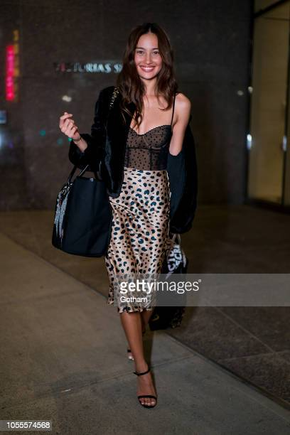 Kelsey Merritt attends fittings for the 2018 Victoria's Secret Fashion Show in Midtown on October 30 2018 in New York City
