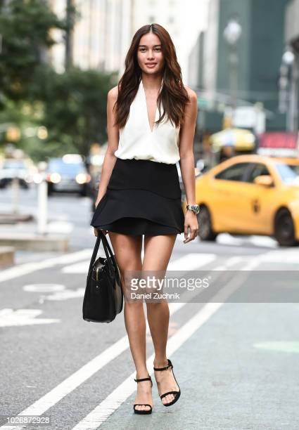 Kelsey Merritt attends the casting for the 2018 Victoria's Secret Show in Midtown on September 4 2018 in New York City