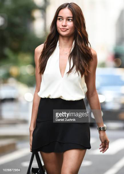 a78801e66a Kelsey Merritt attends the casting for the 2018 Victoria s Secret Show in  Midtown on September 4