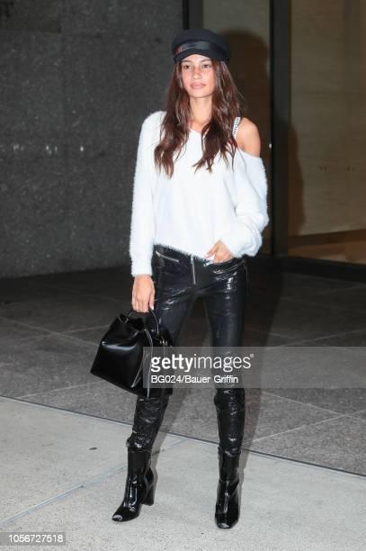 Kelsey Merritt is seen on November 02 2018 in New York City