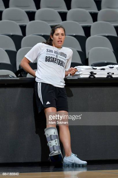 Kelsey Plum of the San Antonio Stars during practice on May 10 at the ATT Center in San Antonio Texas NOTE TO USER User expressly acknowledges and...