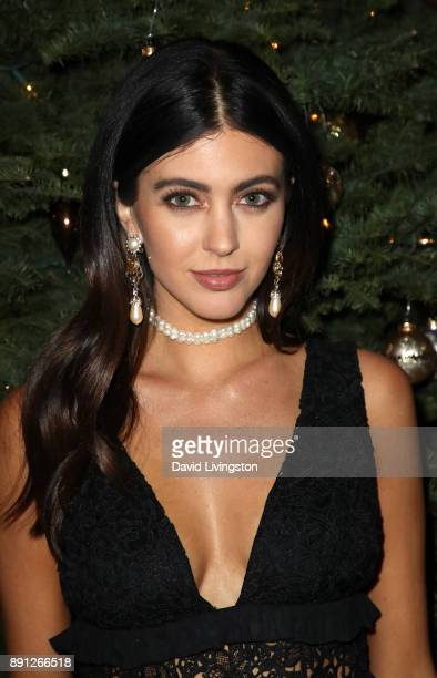 Kelsey White attends FORAY Collective and The Black Tux Host Holiday Gala on December 12 2017 in Los Angeles California