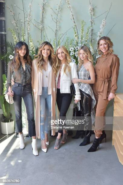 Kelsey White Katrina Scott Sophie Elkus Kaitlynn Carter and Karena Dawn attend Summer Fridays Skincare Launch With Marianna Hewitt Lauren Gores...