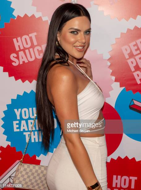 Kelsie Jean Smeby arrives to PERIA Robertson 2 Year Anniversary Red Carpet Celebration on May 09 2019 in West Hollywood California