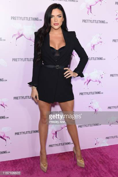Kelsie Smeby attends Pretty Little Thing's BET awards pre party at Pretty Little Thing Showroom on June 19 2019 in West Hollywood California