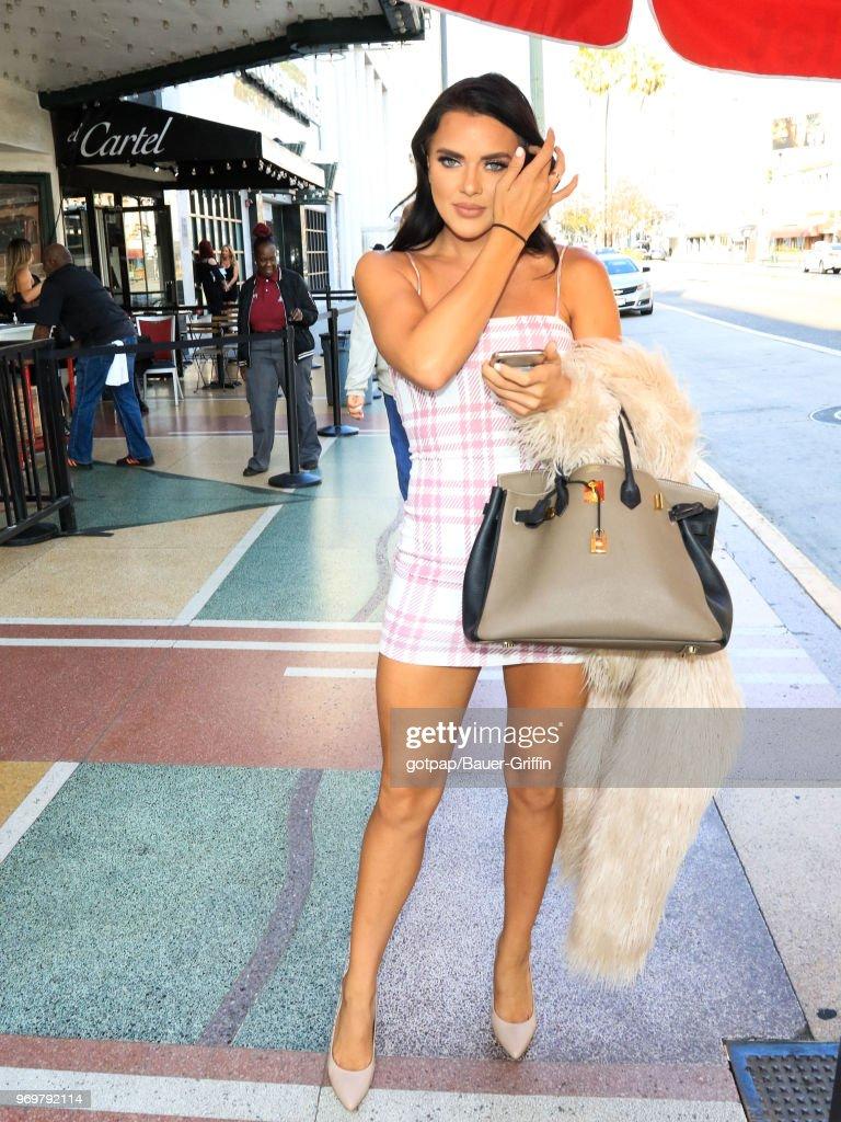 Celebrity Sightings In Los Angeles - June 07, 2018 : News Photo