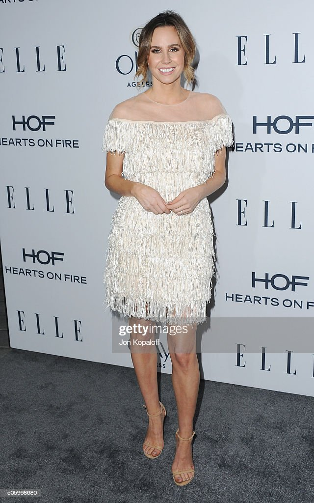 Keltie Knight arrives at ELLE's 6th Annual Women In Television Dinner at Sunset Tower Hotel on January 20, 2016 in West Hollywood, California.