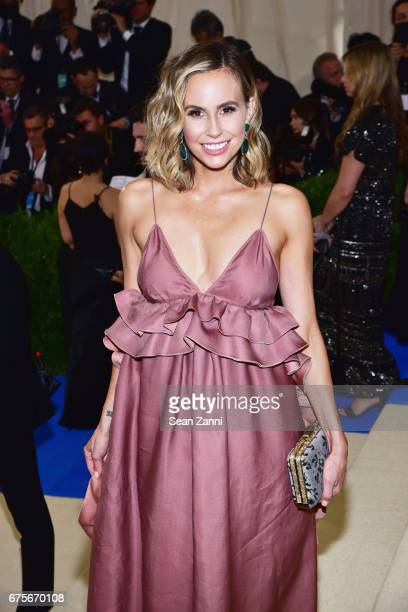 Keltie Knight arrives at 'Rei Kawakubo/Comme des Garcons Art Of The InBetween' Costume Institute Gala at The Metropolitan Museum on May 1 2017 in New...