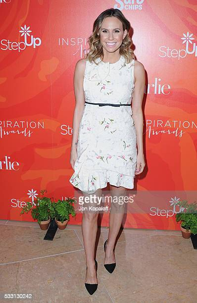 Keltie Knight arrives at Step Up's 13th Annual Inspiration Awards at The Beverly Hilton Hotel on May 20 2016 in Beverly Hills California