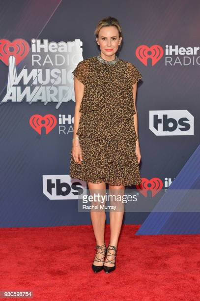 Keltie Knight arrives at the 2018 iHeartRadio Music Awards which broadcasted live on TBS TNT and truTV at The Forum on March 11 2018 in Inglewood...