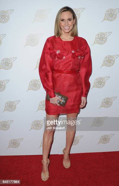 Keltie Knight arrives at the 54th Annual International Cinematographers Guild Publicists Awards at The Beverly Hilton Hotel on February 24 2017 in...
