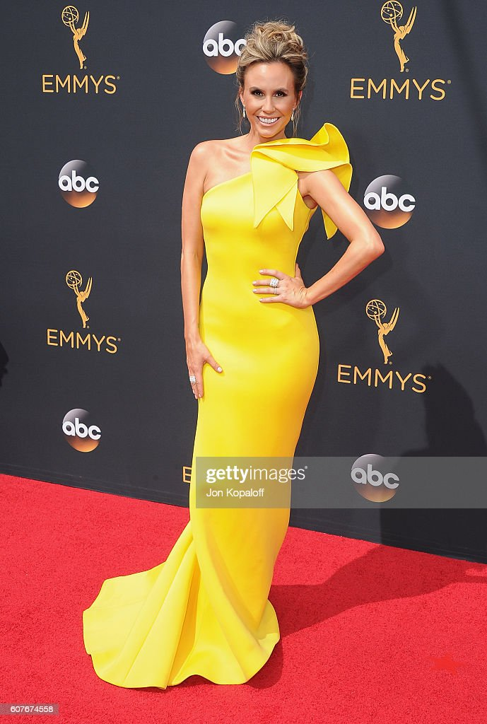 Keltie Knight arrives at the 68th Annual Primetime Emmy Awards at Microsoft Theater on September 18, 2016 in Los Angeles, California.