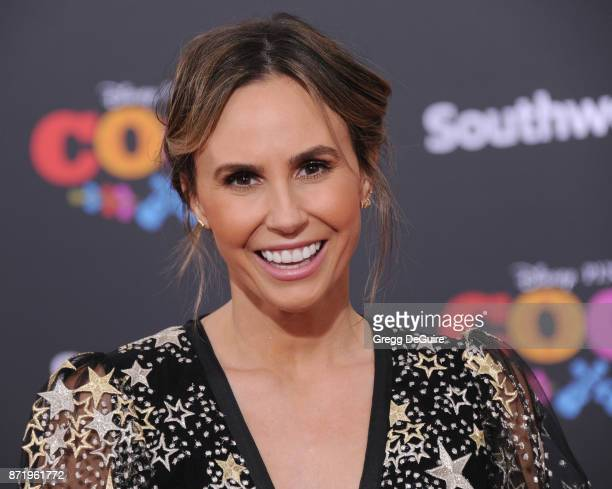 Keltie Knight arrives at the premiere of Disney Pixar's 'Coco' at El Capitan Theatre on November 8 2017 in Los Angeles California