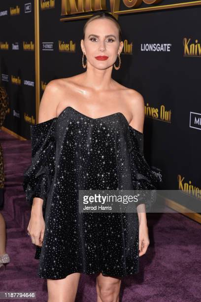 Keltie Knight arrives at the Premiere of Lionsgate's 'Knives Out' at Regency Village Theatre on November 14 2019 in Westwood California