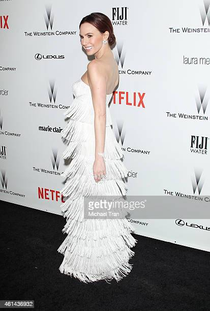 Keltie Knight arrives at The Weinstein Company and Netflix Golden Globes afterparty held on January 11 2015 in Beverly Hills California