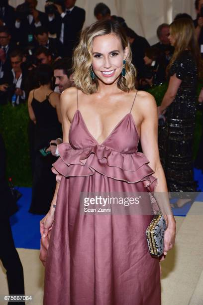 Keltie Knight arrives 'Rei Kawakubo/Comme des Garcons Art Of The InBetween' Costume Institute Gala at The Metropolitan Museum on May 1 2017 in New...