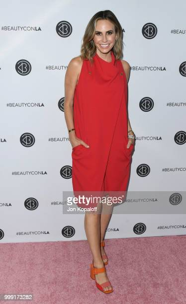 Keltie Knight attends Beautycon Festival LA 2018 at Los Angeles Convention Center on July 14 2018 in Los Angeles California
