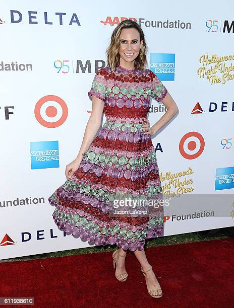 Keltie Knight attends MPTF's 95th anniversary celebration 'Hollywood's Night Under The Stars' on October 1 2016 in Los Angeles California