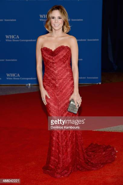 Keltie Knight attends the 100th Annual White House Correspondents' Association Dinner at the Washington Hilton on May 3 2014 in Washington DC